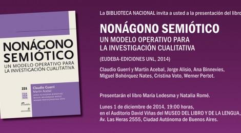 """Presentación del libro """"Nonágono Semiótico"""" de Claudio Guerri - 1º Diciembre 2014"""
