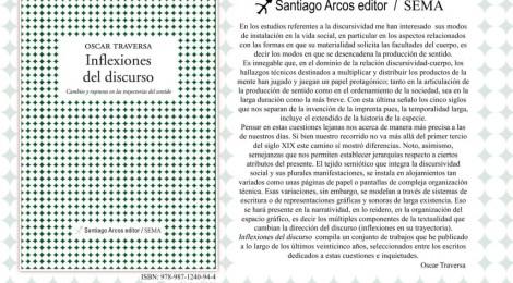 """""""Inflexiones del discurso"""", nuevo libro de Oscar Traversa"""